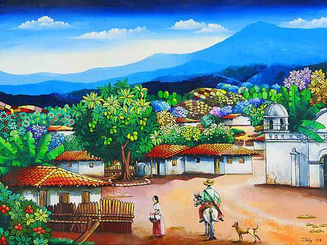 Tipical village by Julio Ortiz