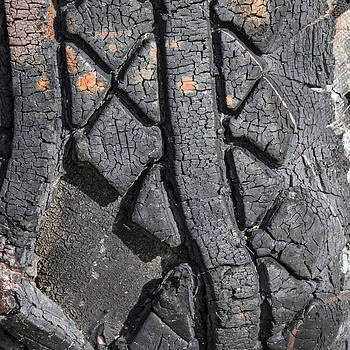 Lynn Palmer - Tire Abstraction No. 4
