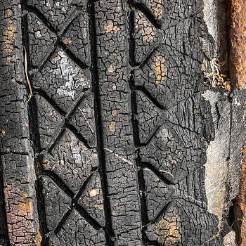 Lynn Palmer - Tire Abstraction No. 5