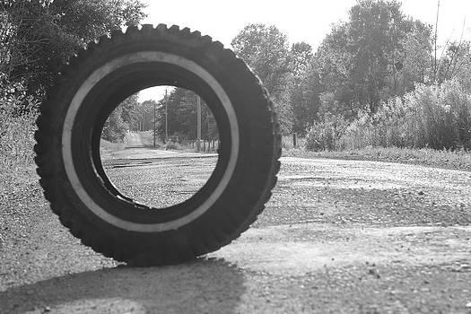 Tire by Sarah Leer