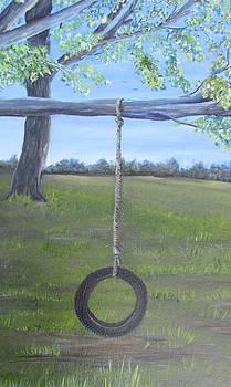 Tire Swing by Linda Clark