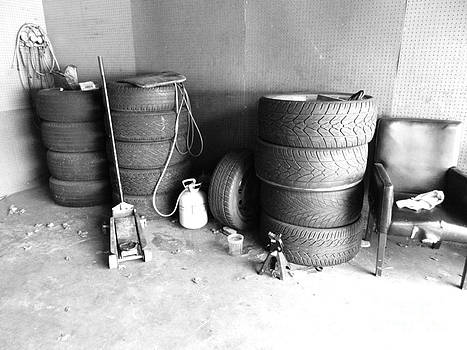 Tires waiting for rims.. by WaLdEmAr BoRrErO