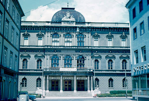 Tiroler Landes Museum 1962 by Cumberland Warden
