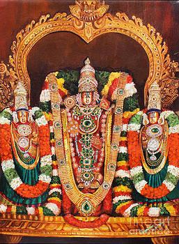 Tirupathi Balaji by Asha Sasikumar