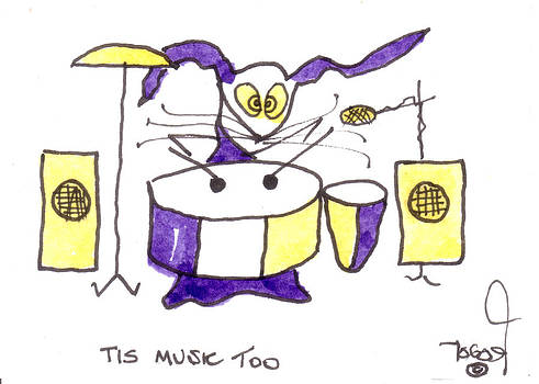 Tis Music Too - Ringo - Beatles by Tis Art