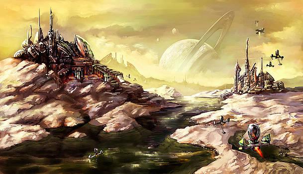 Titan by Odysseas Stamoglou