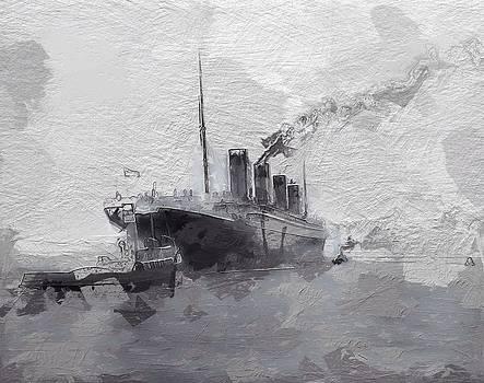 Steve K - Titanic leaving Southhampton