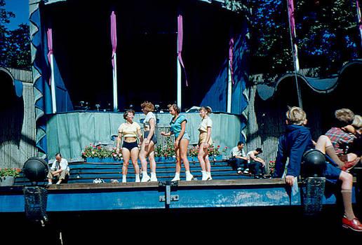 Tivoli Rehearsal 1953 by Cumberland Warden