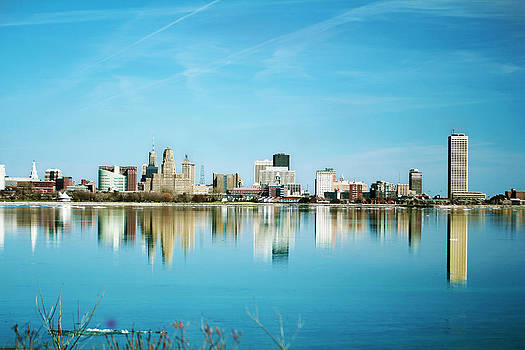 Twin city? by Gary Campbell