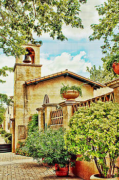 Tlaquepaque in Sedona - Reworked by Fred Larson