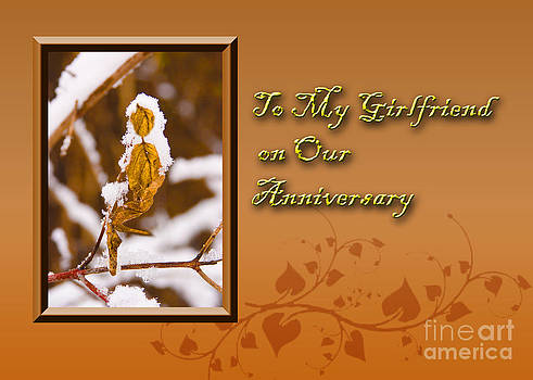 Jeanette K - To My Girlfriend on Our Anniversary Leaf