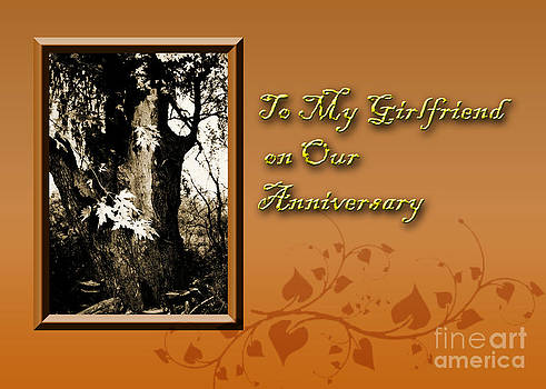Jeanette K - To My Girlfriend on Our Anniversary Willow Tree