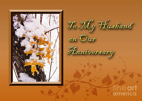Jeanette K - To My Husband on Our Anniversary Leaves