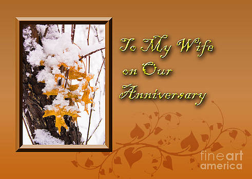 Jeanette K - To My Wife on Our Anniversary Leaves