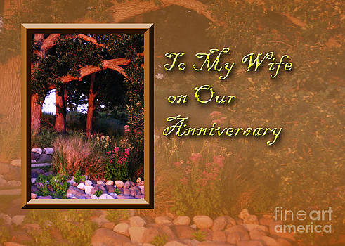 Jeanette K - To My Wife on Our Anniversary Woods