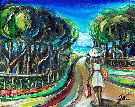 To the Beach by Jennifer Treece