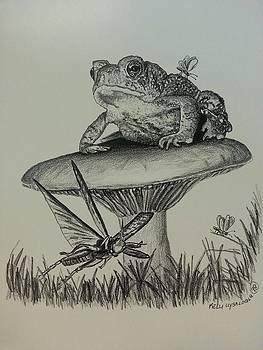 Toad Stool by Kelli Uysaloglu