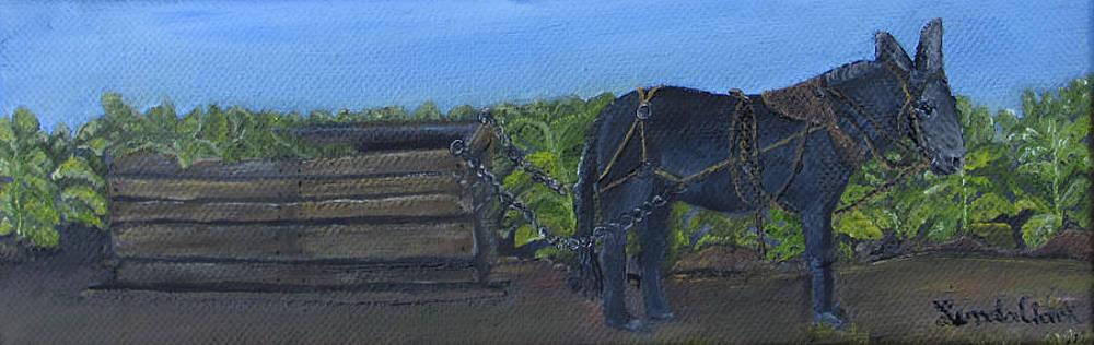 Tobacco Harvesting  by Linda Clark
