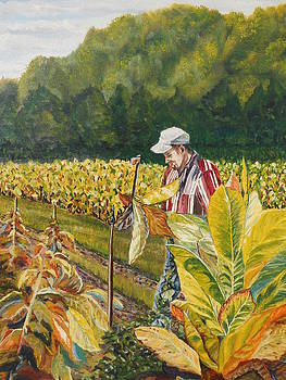 Tobacco Worker by Sandra Wilson
