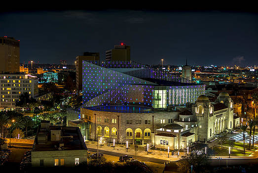 Tobin Center for the Performing Arts by David Morefield