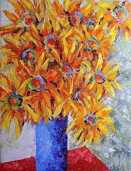 Today I think in yellow by Nina Mitkova