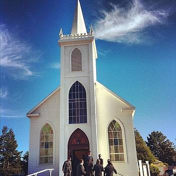 Today's Ceremony Location. This Church by Sarah Dawson