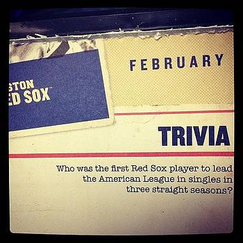 Today's Trivia by Jeff Bickley