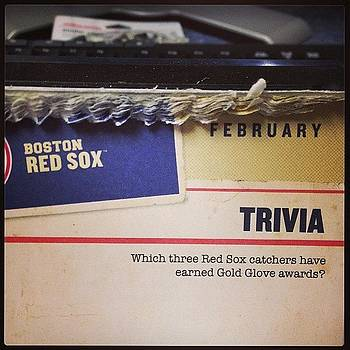 Today's Trivia Question.  #redsox by Jeff Bickley