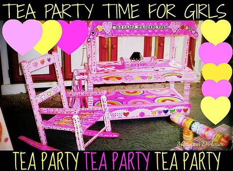 Maryann  DAmico - Toddler Tea and Art Cart/Table and Magical Rocking Chair