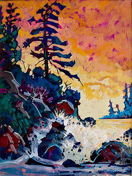 Tofino Sunset by Brian Buckrell