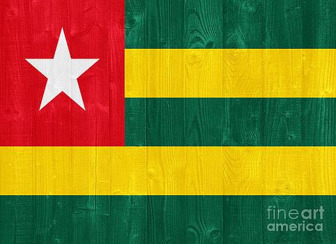 Togo flag by Luis Alvarenga