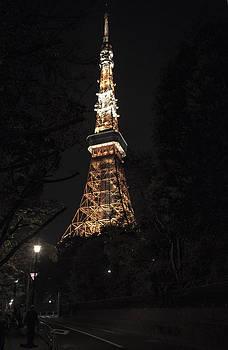 Tokyo Tower by Marcio Correa