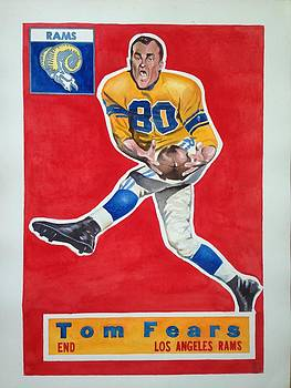 Tom Fears by Robert  Myers