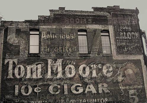 Anne Cameron Cutri - Tom Moore Ten Cent Cigar Black and White