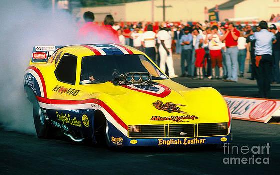 Tom the Mongoose Mc Ewen Corvette Funny Car by Howard Koby