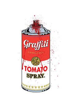 Tomato Spray Can by Gary Grayson