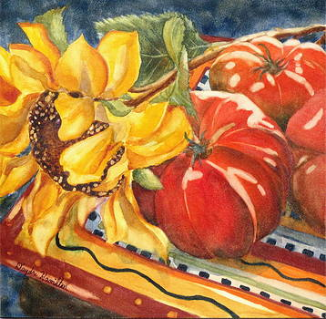 Tomatoes II by Daydre Hamilton