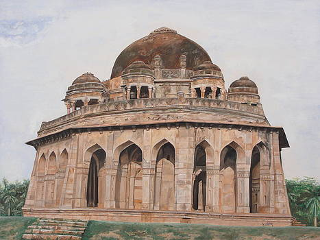Tomb Lodhi by Rajesh Chopra