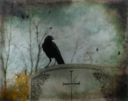 Gothicrow Images - Tombstone Crow