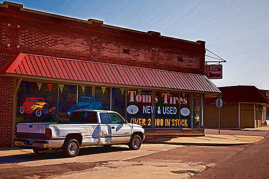 Tom's Tires by Angie Rayfield