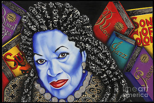 Toni Morrison by Nannette Harris