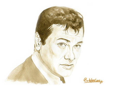 Tony Curtis by David Iglesias