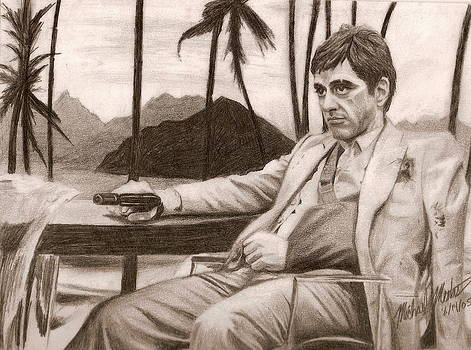 Tony Montana by Michael Mestas
