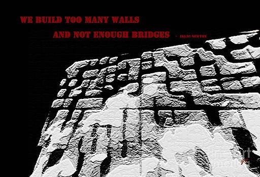 Too Many Walls by Gerlinde Keating - Galleria GK Keating Associates Inc