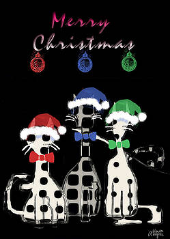 Toon Cats Christmas by Arline Wagner