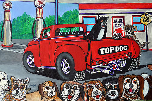 Top Dog route 66 by Bob Crawford