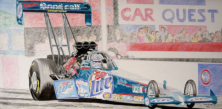 Top Fuel Dragster by Ronald Young