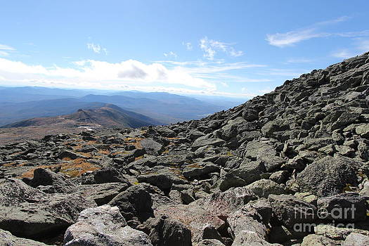 Top view Mt Washington by Jeffrey Akerson