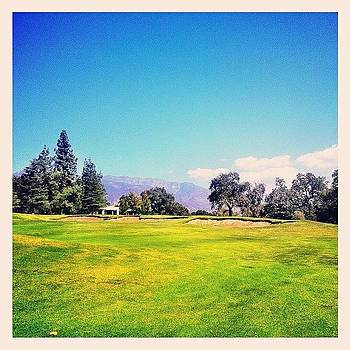 Topa Topas Overlooking Soule Park Golf by Tristan Thames