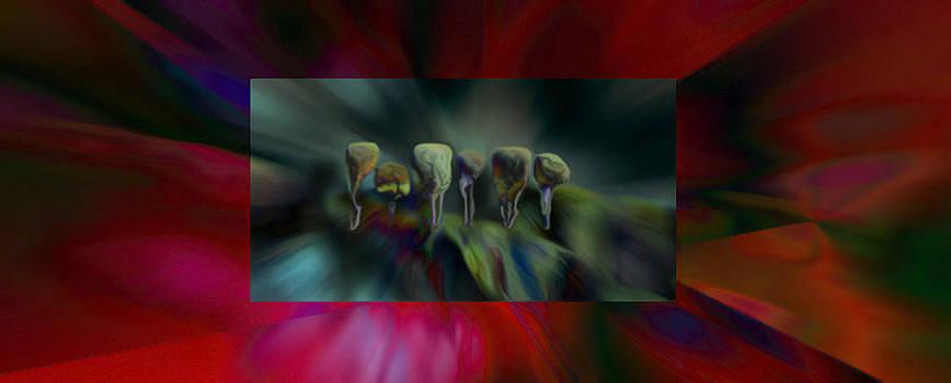 Topiaries by Janet Kearns